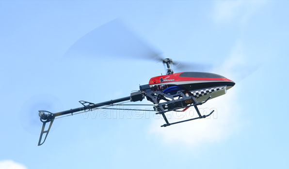 Walkera V450D01 - 6 csatornás, 2,4 GHz-es, brushless, Flybarless helikopter 1