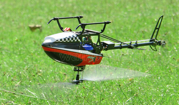 Walkera V450D01 - 6 csatornás, 2,4 GHz-es, brushless, Flybarless helikopter 10