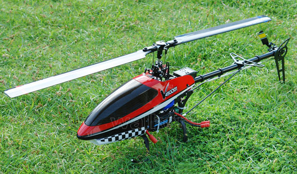 Walkera V450D01 - 6 csatornás, 2,4 GHz-es, brushless, Flybarless helikopter 2