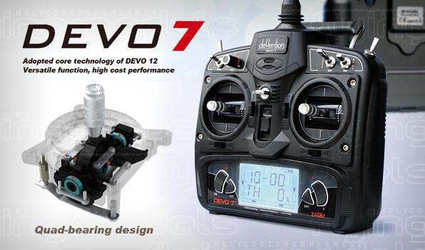 Walkera V450D03 - Devo 7 RTF 10