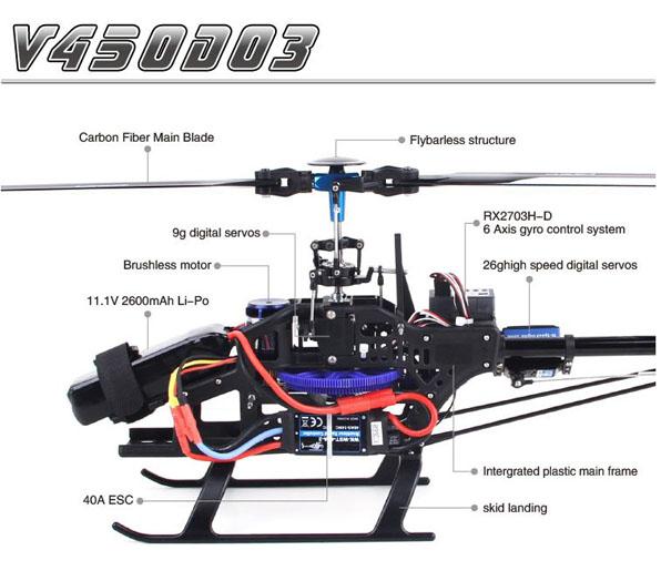 Walkera V450D03 - Devo 7 RTF 9
