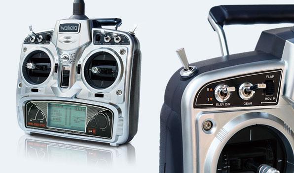 Walkera V500D01 - 6 csatornás, 2,4 GHz-es, brushless, Flybarless helikopter  4