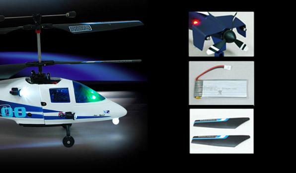 Walkera X100 - 4 csatornás, 2,4 GHz-es, Koax helikopter 1