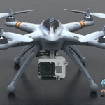 Walkera QR X350 quadcopter - BNF 2