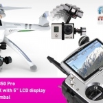 Walkera QR X350 Pro Quadcopter  - Devo F12E - FPV version - RTF9