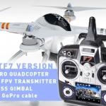 Walkera QR X350 Pro Quadcopter - FPV version - RTF7