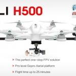 Walkera TALI H500 FPV GPS Brushless Hexacopter BNF3