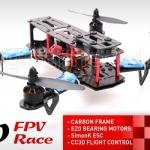 XBird 250 FPV Race carbon quadcopter BNF