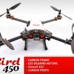 XBird 450 carbon quadcopter BNF