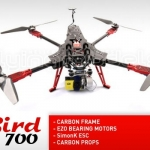 XBird 700 carbon quadcopter BNF