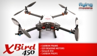 XBird 450 carbon quadcopter BNF