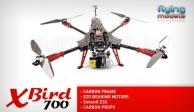 XBird 700 carbon quadcopter BNF