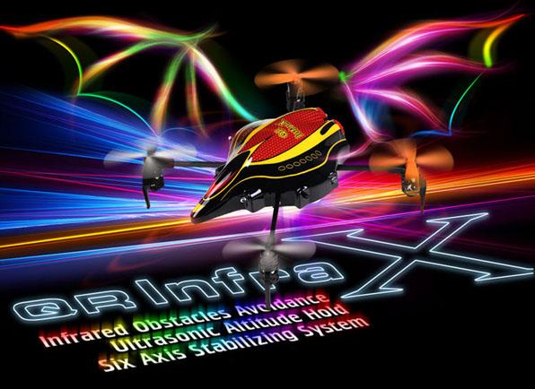 Walkera Qr Infra X Quadcoptert Devo4 RTF 10