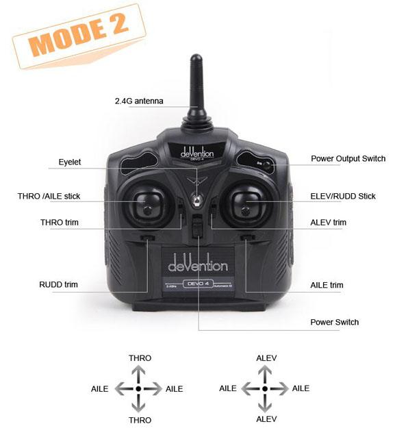 Walkera Qr Infra X Quadcoptert Devo4 RTF 11