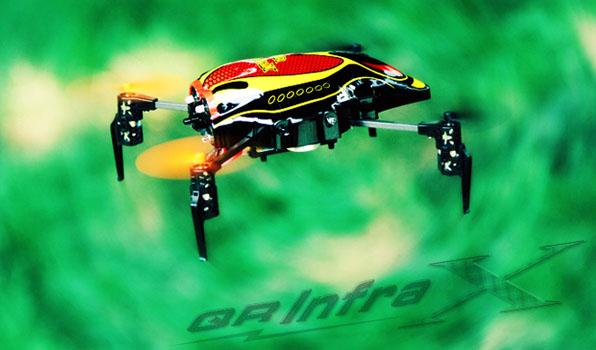 Walkera Qr Infra X Quadcoptert Devo4 RTF 2