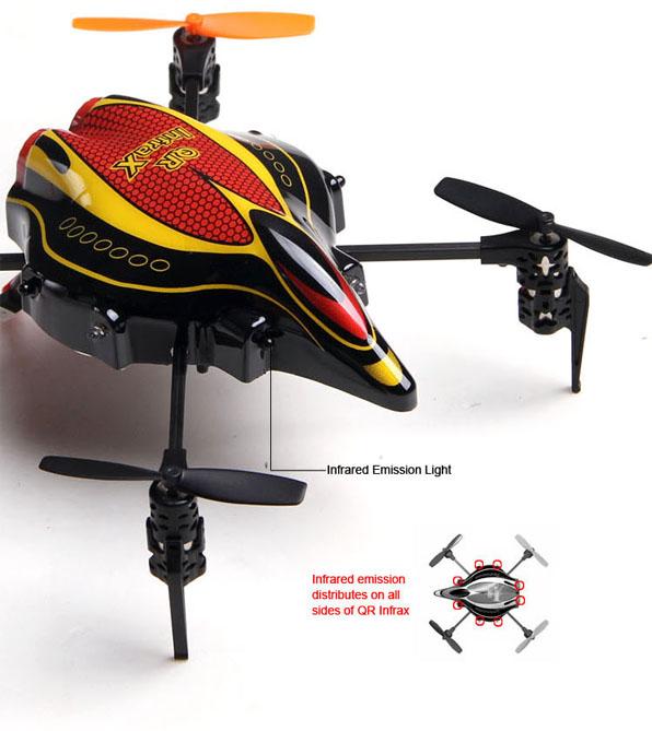 Walkera Qr Infra X Quadcoptert Devo4 RTF 5