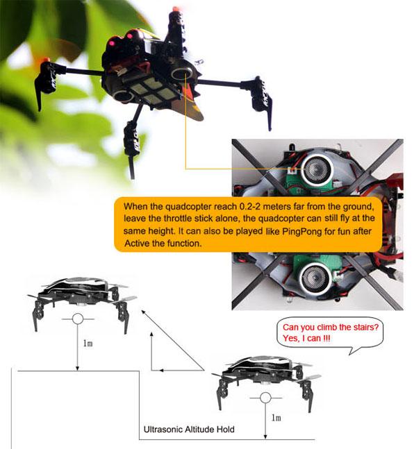 Walkera Qr Infra X Quadcoptert Devo4 RTF 7