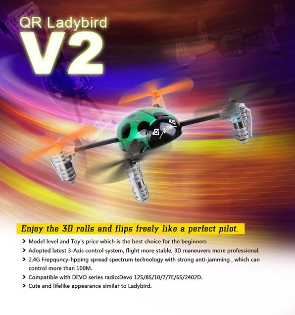 Walkera Qr Ladybird V2. 1