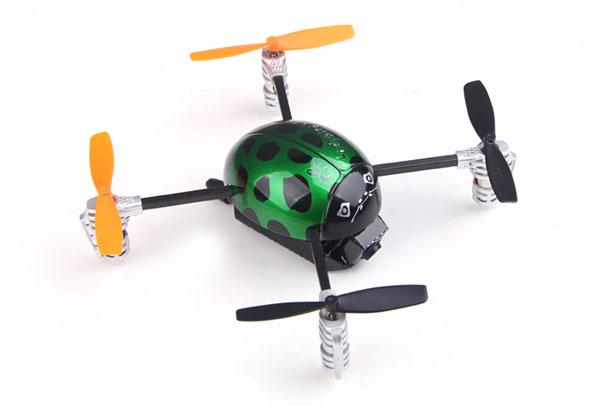 Walkera Qr Ladybird V2. FPV - Devo F4 10