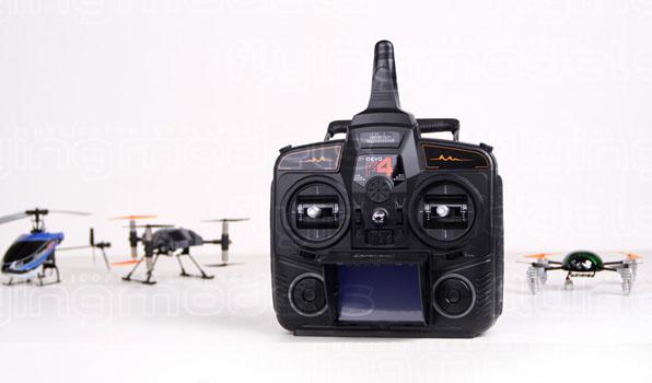 Walkera Qr Ladybird V2. FPV - Devo F4 15