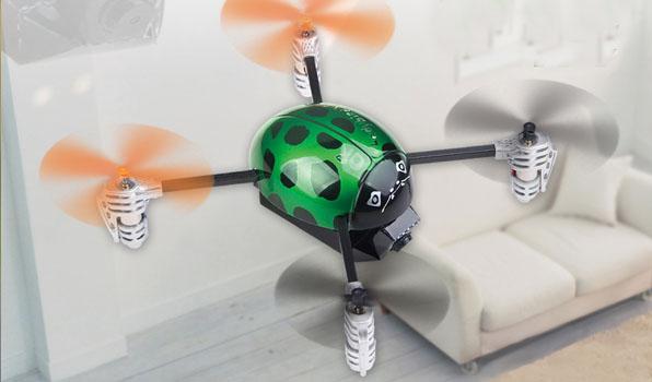 Walkera Qr Ladybird V2. FPV - Devo F4 2