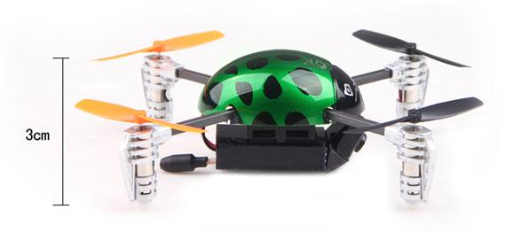 Walkera Qr Ladybird V2. FPV - Devo F4 9