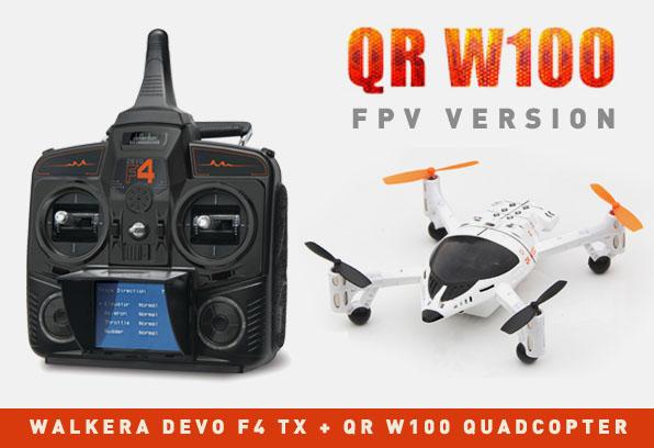 Walkera QR W100 FPV quadcopter Devo F4  10