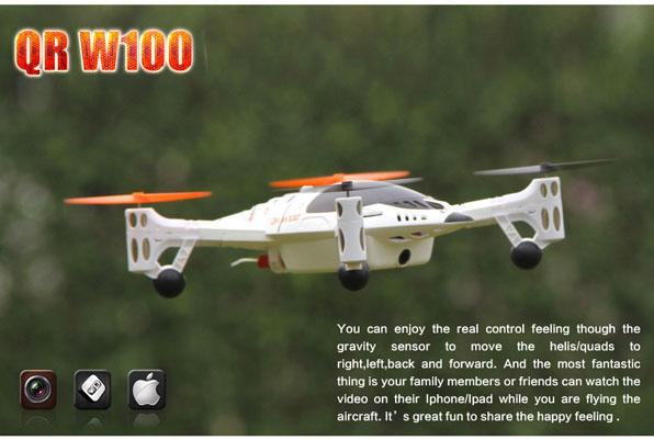 Walkera QR W100 FPV quadcopter Devo F4  3