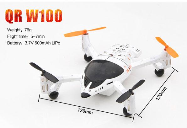 Walkera QR W100 FPV quadcopter Devo F4  6