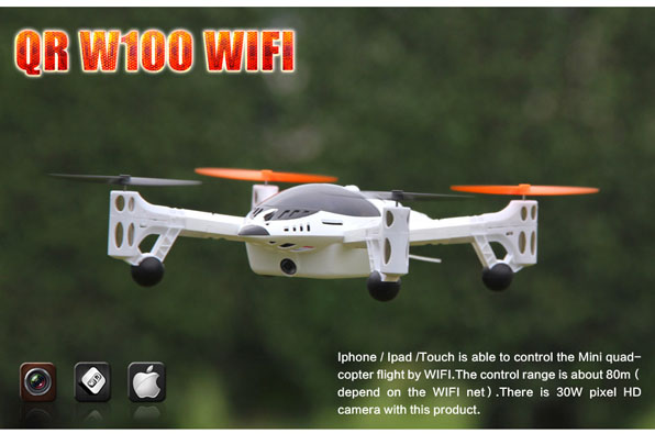 Walkera QR W100 WiFi & 2,4 GHz 1
