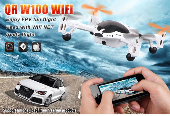 Walkera QR W100 WiFi & 2,4 GHz 11