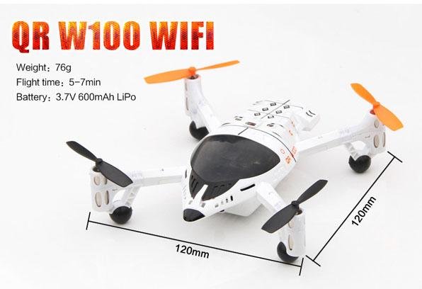 Walkera QR W100 WiFi & 2,4 GHz 15