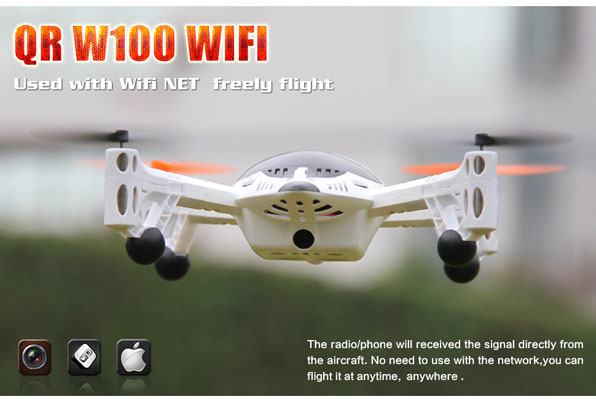 Walkera QR W100 WiFi & 2,4 GHz 2