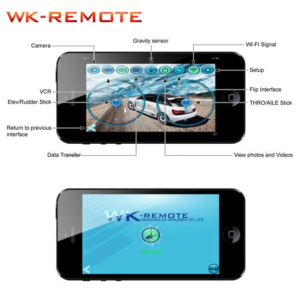 Walkera QR W100 WiFi & 2,4 GHz 6