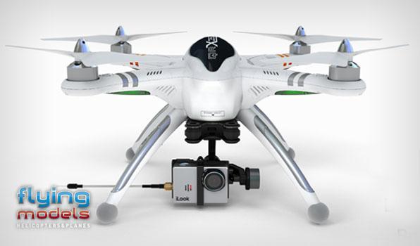 Walkera QR X350 Pro Quadcopter- BNF2 6