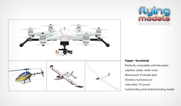 Walkera QR X350 Pro Quadcopter  - Devo F12E - FPV version - RTF8 7