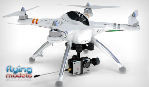 Walkera QR X350 Pro Quadcopter  - Devo F12E - FPV version - RTF9 5