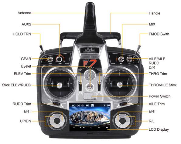 Walkera QR X350 Pro Quadcopter - FPV version - RTF4  19
