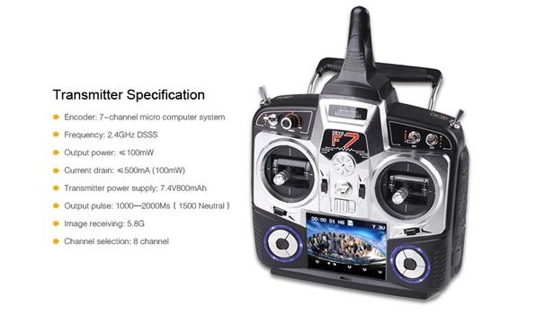 Walkera QR X350 Pro Quadcopter - FPV version - RTF4  21