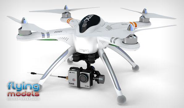 Walkera QR X350 Pro Quadcopter - FPV version - RTF4  7