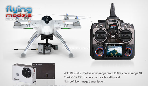 Walkera QR X350 Pro Quadcopter - FPV version - RTF7 5