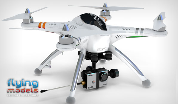 Walkera QR X350 Pro Quadcopter - FPV version - RTF7 6