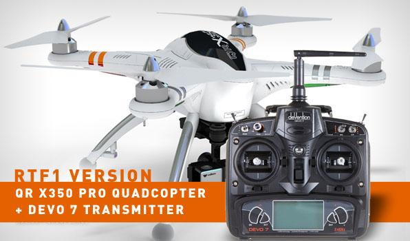 Walkera QR X350 Pro Quadcopter- RTF1 2