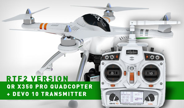 Walkera QR X350 Pro Quadcopter- RTF2 2