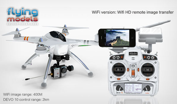 Walkera QR X350 Pro Quadcopter- RTF2 6
