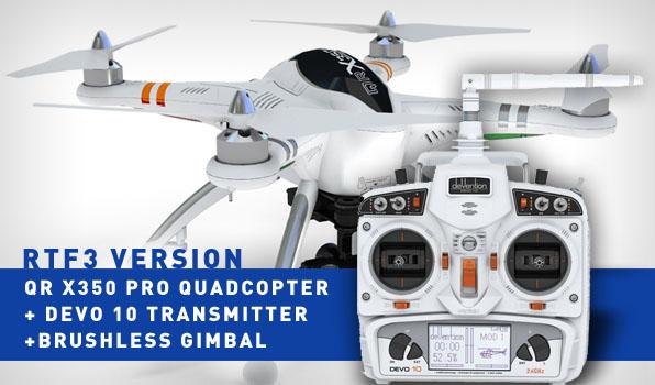 Walkera QR X350 Pro Quadcopter- RTF3 2