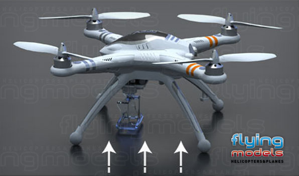 Walkera QR X350 quadcopter - BNF 1 7