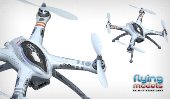 Walkera QR X350 quadcopter - FPV 1