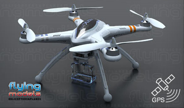 Walkera QR X350 quadcopter - FPV 6