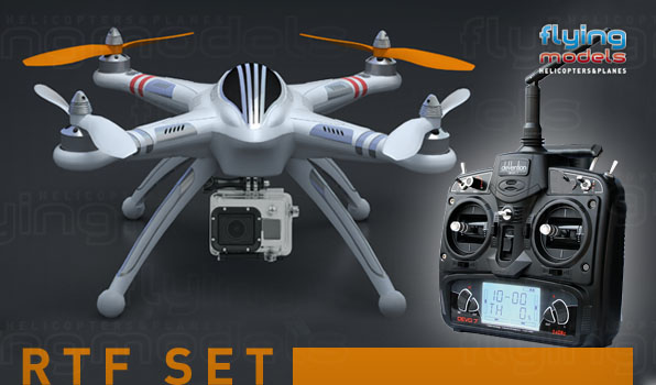 Walkera QR X350 quadcopter - RTF 1 10